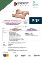 11 Sep - Joint Seminar