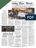 The Daily Tar Heel for Nov. 20, 2015