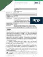 DSTL Job Profile 22916