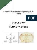 MODULE 09A. HUMAN FACTORS