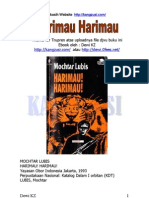 Moctar Lubis HarimauHarimauTamat-Dewi KZ