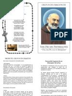 Grupos de Oración del Padre Pio