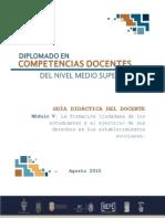 Guia Didactica Del Docente Modulo v Virtual
