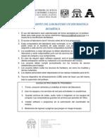 Uso y Reglamento Del Laboratorio de Informatica Biomedica