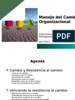 Modulo 3.Manejo Del Cambio Organizacional