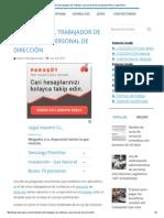 El Despido Del Trabajador de Confianza o Personal de DirecciónLaboraPeru _ LaboraPeru