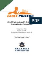 quarter scale flyer