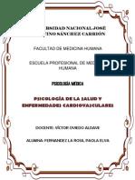 Psicología de La Salud y Enfermedades Cardiovasculares