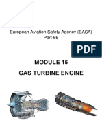 MODULE 15. GAS TURBINE ENGINE