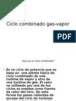 Ciclo Combinado Gas-Vapor