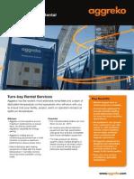 Aggreko Temperature and Moisture Control Flyer- Global Version