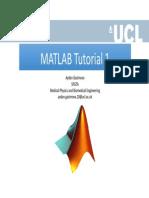 MATLAB Tutorial 1
