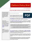 GDWGL Policy Brief No 11 SDGs indicator