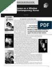 Cinema as a Window on Contemporary Korea