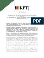 .@KPTJ_Kenya STATEMENT to #ASP14 OF THE ROME STATUTE delivered by @Gladwellotieno, KPTJ. #KPTJtoASP14