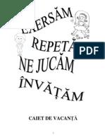Caiet de Vacanta PDF
