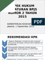 PERATURAN BPJS NOMOR 2 TAHUN 2015.pptx