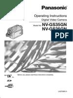 Manual Nv-gs25 35gn