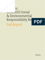 CSR Report 2011-12 Gap Inc