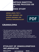 Lodhi - Granulomatous Mastitis Docx Power Point2 Copy