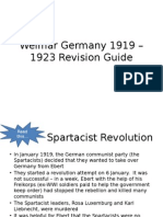 weimar germany 1919   1933 revision guide