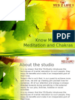 Know More about  Meditation and Chakras.pptx