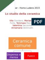 lo studio della ceramica