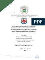 Ejemplo de Examen Especial de Auditoria Bien