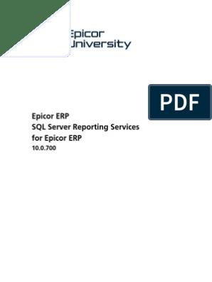 SQL Server Reporting Services SSRS | Database Index | Databases