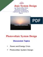 PV System Design Explained