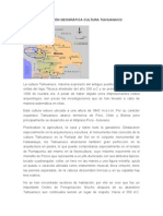 Ubicación Geográfica Cultura Tiahuanaco