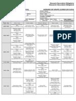 Horarios Grupos 2015/16