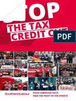 Stop the Tax Credit Campaign Pack