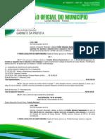 Orgão Oficial - Campo Mourão - PR- Brazil - Jornal 1909 17-11-2015 Edição Extra