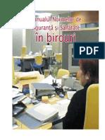 Manualul normelor de siguranta si sanatate in birouri