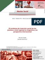 El problema de inserción social de los jóvenes a nivel regional en Argentina y en perspectiva internacional
