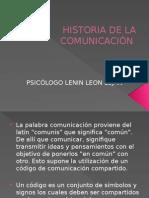01 Historia de La Comunicación