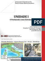 Unidade 1 - o Pavimento Como Estrutura