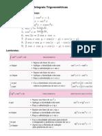Integrais Trigonométricas
