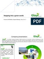 Stepping into a Green World - Glayx, Italia - Francesco del Medico - Success Story