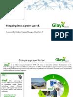 Stepping into a Green World - Glayx, Italia - Francesco del Medico - Success Story