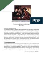 Teorías, juegos, y teoría de juegos