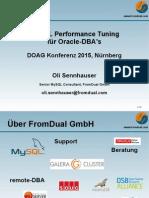 MySQL Performance Tuning für Oracle-DBA's