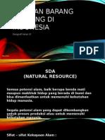Sebaran barang tambang di indonesia