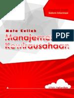 Manajemen Kewirausahaan
