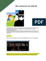 Identificando Invasores na Rede do Windows