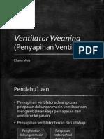 Ventilator Weaning