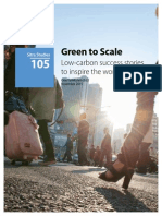 Green to Scale Editorial Report