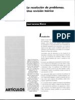 La resolución de problemas - Una revisión teórica.pdf