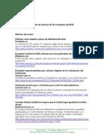 Boletín de Noticias KLR 20NOV2015